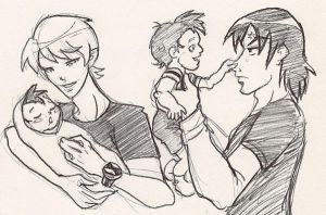 BEN10: Parenthood by pan2dapan