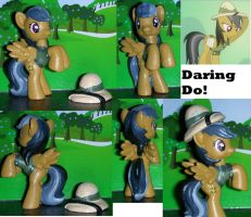 Daring Do! Pony Archeologist by TianaTinuviel
