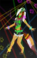 Dracona's rave by DracoWolf0-0