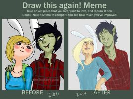 draw this again meme 7 by KittyNoMore