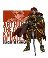 Sir Arthur_The Knights of Dales by NDomon87
