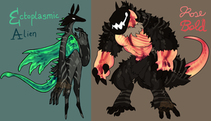 [DESIGN COLLAB] RAY Beasts by zigzaggin-goon
