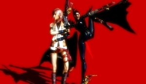 Request: Lightning and Bayonetta by Dantefreak