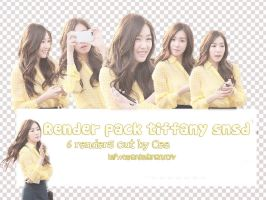 Render pack Tiffany SNSD #3 by Cee-lan
