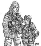 S.T.A.L.K.E.R. Duo by thefirewarriors