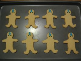Avatar Day Cookies by DragonMartialArtist