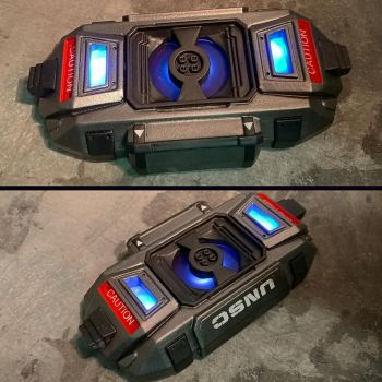Halo 5 Armor Ability Module Replica with LEDs by JohnsonArmsProps