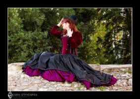 Shooting Aristo steampunk by myoppa-creation