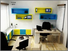 Section room,Office by ignisd