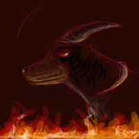 Houndoom - Evil Plot by Inquisitive-Soul