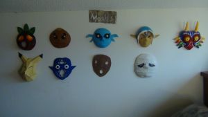 My Masks by Crowbariswin