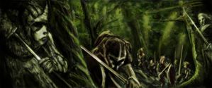 Orc Hunt by drywipen