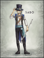 OPP Contest :: Timeskip Sabo by rockinrobin