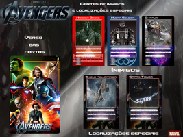 Avengers  Board Game by eduardodekamaster