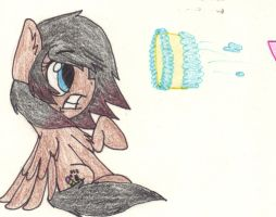 Caaake to the Face! by MelchiorFlyer