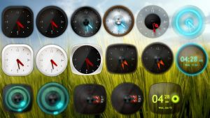XW Analog Clock HD Collection for xwidget by jimking