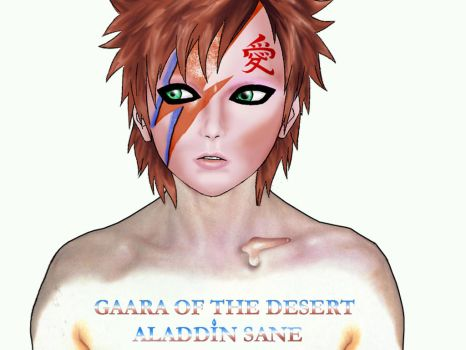 David Bowie of the Desert by Zatch