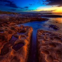 Crack and craters by Kounelli1