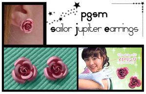 PGSM Sailor Jupiter Earrings by Topaz-Jewelry