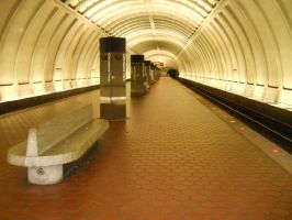 Cleveland Park Station_Stock by Calisaroa
