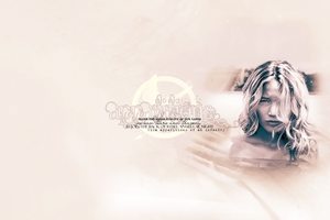 Apparitions - Katniss by GotMyAddictions