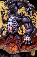Venom The Madness Bw by SiriusSteve