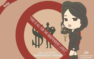 miss A Suzy I Don't Need A Man Chibi by jinsuke04