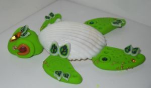 Green Sea Turtle by Celtic-Dragonfly