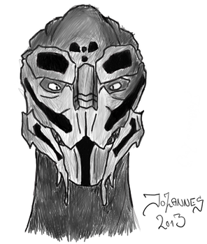 Turian Drawing by Rostov-na-don