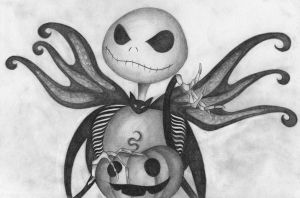 Jack Skellington by delivess