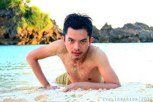 tanned in the island by Yolib