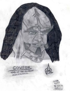 gowron by luc