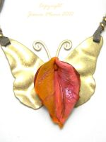 Fairy Queen Vulva Pendant by VulvaLoveLovely