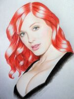 Christina Hendricks. by ChrisPickman
