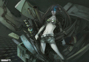 Black Rock Shooter by HsiaoKAI