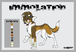 Immolation Ref Sheet by Flame-Expression