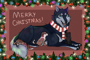Merry Christmas! by BlueHeart417