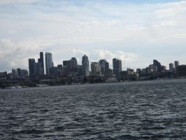 Seattle Skyline by rifka1