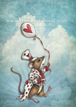 Valentine Mouse 2 by WildWoodArtsCo
