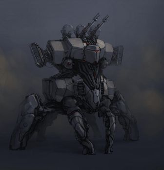 another flak mech by ProgV