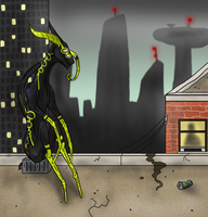 Smoggy Outskirts ..::MTT contest entry::.. by Fourdd