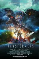 Transformers: Age of Extinction (2014) - Poster by CAMW1N