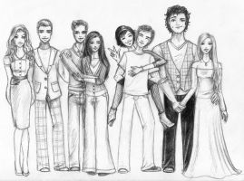 The Cullens by mari-angel