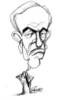 Ron Paul Caricature by sketchoo