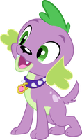 Spike Pup by Serendipony