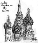 Vasily Cathedral Moscow by Moscow-lovers