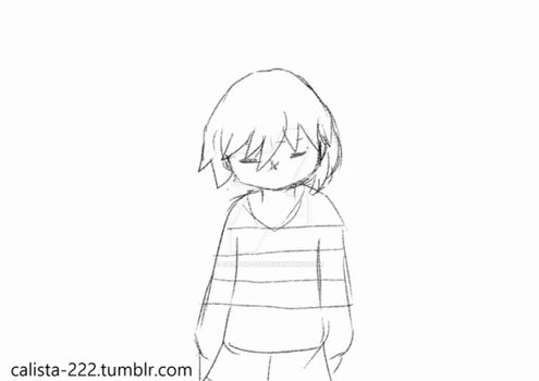 Frisk GIF by Calista-222