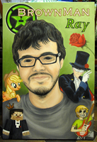 . : Painting Ray (RoosterTeeth) - Checkpoint 3 : . by MoogleKingdom13