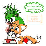Manic Meets Tails by Dr-InSean