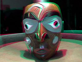 3D carving Anaglyph by nikishka